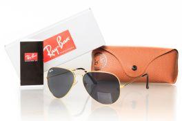 Солнцезащитные очки, Ray Ban Aviator 3026black-g