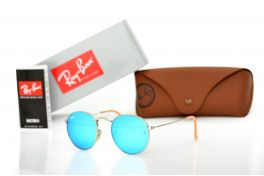 Солнцезащитные очки, Ray Ban Round Metal 3447aqua-s