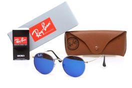 Солнцезащитные очки, Ray Ban Round Metal 6002-blue