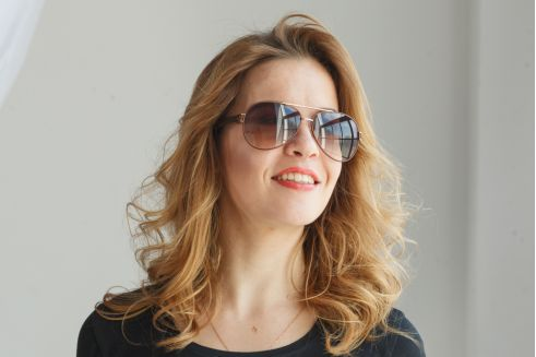 Женские очки капли 1109c17